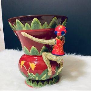 Abigail's Accents - Abigail's Monkey Vase